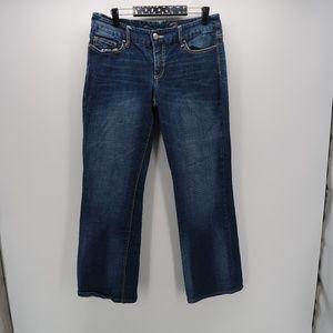 Seven7 A Pocket Straight Leg Boot Cut Denim Jean